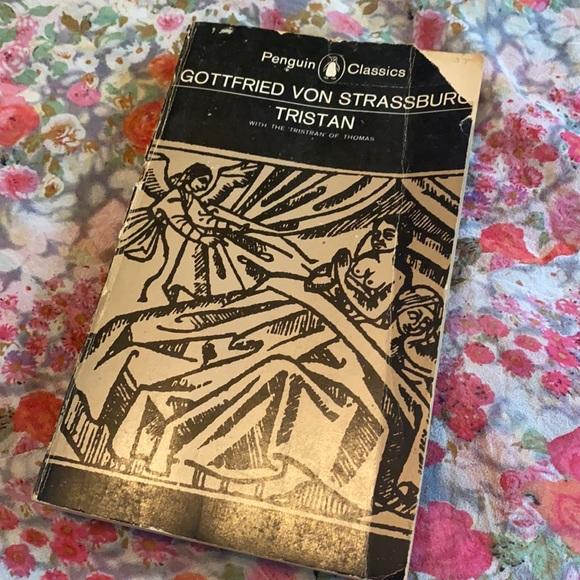 Gottfried Von Strassburg Tristan Book